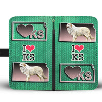 Great Pyrenees Dog Art Print Wallet Case-Free Shipping-KS State - Deruj.com