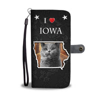 British Shorthair Cat Print Wallet Case-Free Shipping-IA State - Deruj.com