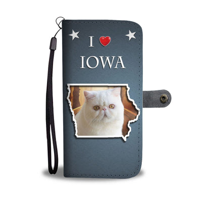 Exotic Shorthair Cat Print Wallet-Free Shipping-IA State - Deruj.com