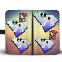 Lovely Japanese Chin Dog Print Wallet Case-Free Shipping-SC State - Deruj.com