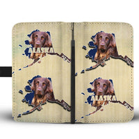 German Longhair Dog Print Wallet Case-Free Shipping-AK State - Deruj.com