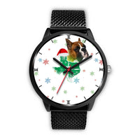 Boxer Dog Texas Christmas Special Wrist Watch-Free Shipping - Deruj.com