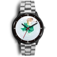 Borzoi Dog Texas Christmas Special Wrist Watch-Free Shipping - Deruj.com