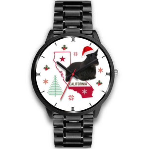 Scottish Terrier California Christmas Special Wrist Watch-Free Shipping - Deruj.com