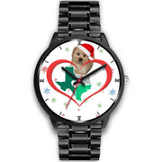 Shih Poo Dog Texas Christmas Special Wrist Watch-Free Shipping - Deruj.com