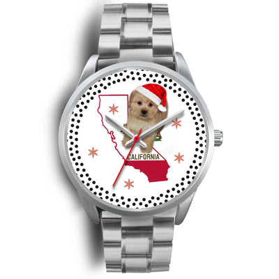 Shih Poo Dog California Christmas Special Wrist Watch-Free Shipping - Deruj.com