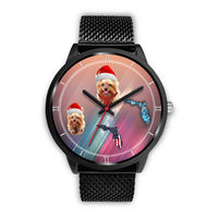 Yorkshire Terrier On Christmas Florida Wrist Watch-Free Shipping - Deruj.com