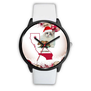 Ragdoll Cat California Christmas Special Wrist Watch-Free Shipping - Deruj.com