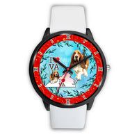 Basset Hound Dog Virginia Christmas Special Wrist Watch-Free Shipping