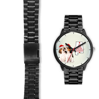 Beagle Dog On Christmas Alabama Wrist Watch-Free Shipping - Deruj.com