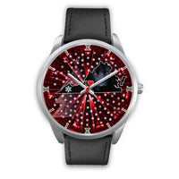 German Shepherd Dog Art Virginia Christmas Special Wrist Watch-Free Shipping - Deruj.com