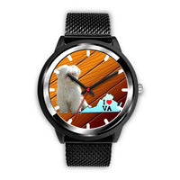 Cute Maltese Dog Virginia Christmas Special Wrist Watch-Free Shipping - Deruj.com