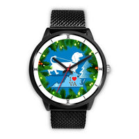 Amazing Dachshund Dog Art Virginia Christmas Special Wrist Watch-Free Shipping - Deruj.com