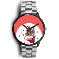 Ocicat California Christmas Special Wrist Watch-Free Shipping - Deruj.com