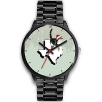 American Wirehair Cat Texas Christmas Special Wrist Watch-Free Shipping - Deruj.com