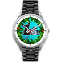 Lovely French Bulldog Virginia Christmas Special Wrist Watch-Free Shipping - Deruj.com