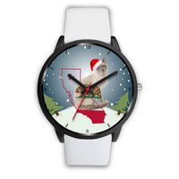 Tonkinese Cat California Christmas Special Wrist Watch-Free Shipping - Deruj.com