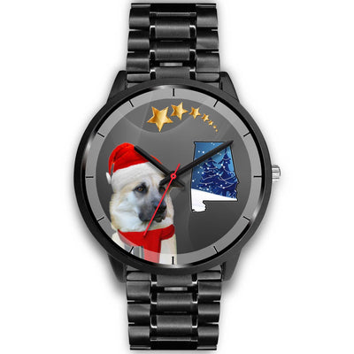 Chinook Dog Alabama Christmas Special Wrist Watch-Free Shipping - Deruj.com