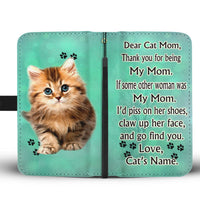 Cute Cat Print Wallet Case Free Shipping-For Cat Mom - Deruj.com
