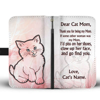 Cat Print Wallet Case For Cat Mom-Free Shipping - Deruj.com