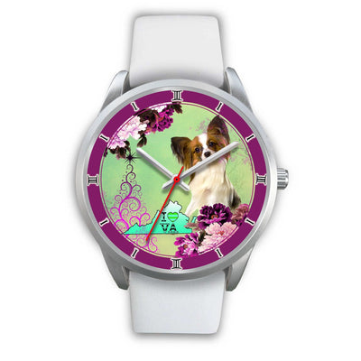 Cute Papillon Dog Virginia Christmas Special Wrist Watch-Free Shipping - Deruj.com
