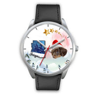 Cute Dachshund Arizona Christmas Special Wrist Watch-Free Shipping - Deruj.com