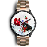 Entlebucher Mountain Dog Arizona Christmas Special Wrist Watch-Free Shipping - Deruj.com