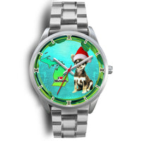 Cute Chihuahua Dog Michigan Christmas Special Wrist Watch-Free Shipping - Deruj.com