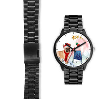 French Bulldog Alabama Christmas Special Wrist Watch-Free Shipping - Deruj.com