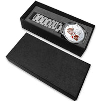 Irish Red and White Setter Arizona Christmas Wrist Watch-Free Shipping - Deruj.com
