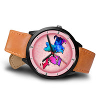 Yorkie Dog Art Michigan Christmas Special Wrist Watch-Free Shipping - Deruj.com