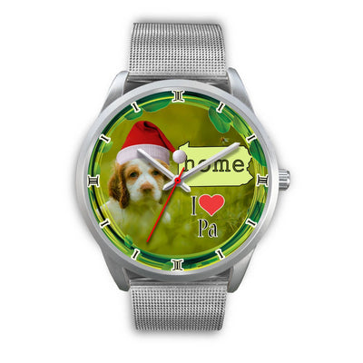 Cocker Spaniel Dog Pennsylvania Christmas Special Wrist Watch-Free Shipping