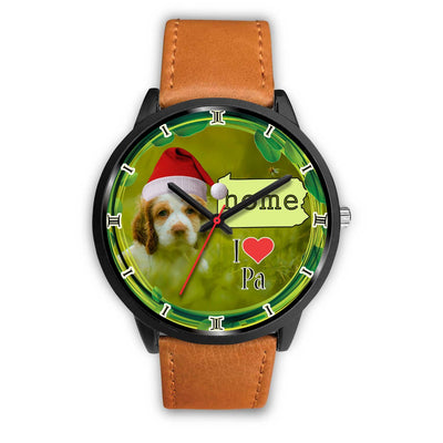 Cute Cocker Spaniel Dog Pennsylvania Christmas Special Wrist Watch-Free Shipping - Deruj.com