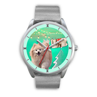 Cute Pomeranian Dog Pennsylvania Christmas Special Wrist Watch-Free Shipping - Deruj.com