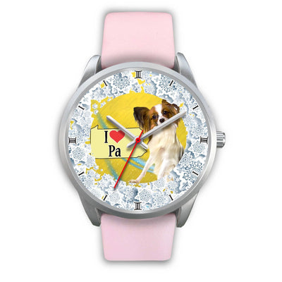 Cute Papillon Dog Pennsylvania Christmas Special Wrist Watch-Free Shipping - Deruj.com