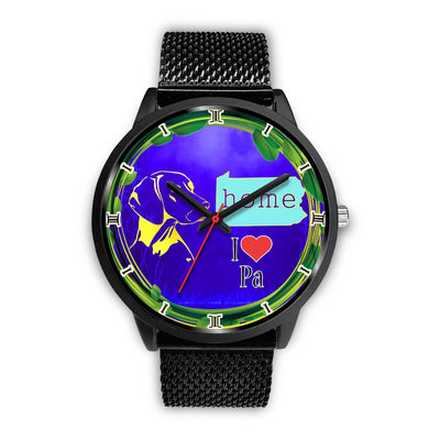 Vizsla Dog Art Pennsylvania Christmas Special Wrist Watch-Free Shipping - Deruj.com