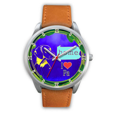 Vizsla Dog Golden Art Pennsylvania Christmas Special Wrist Watch-Free Shipping - Deruj.com