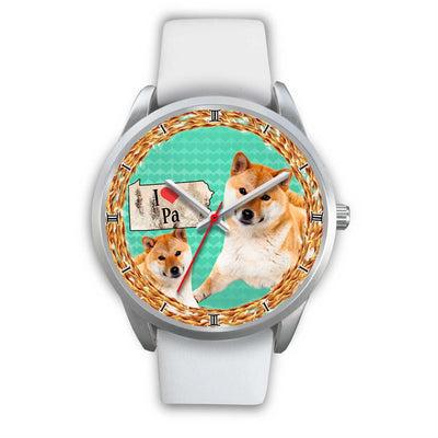 Shiba Inu Dog Pennsylvania Christmas Special Wrist Watch-Free Shipping - Deruj.com