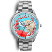 Cheerful Chow Chow Dog Pennsylvania Christmas Special Wrist Watch-Free Shipping - Deruj.com