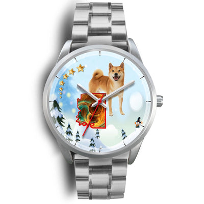 Shiba Inu Arizona Christmas Special Wrist Watch-Free Shipping - Deruj.com