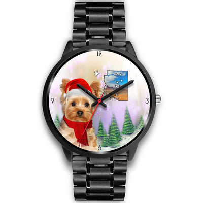 Yorkshire Terrier Arizona Christmas Special Wrist Watch-Free Shipping - Deruj.com