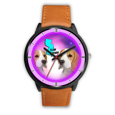 Cute Beagle Dog New Jersey Christmas Special Limited Edition Wrist Watch-Free Shipping - Deruj.com