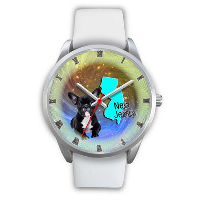 Cute French Bulldog New Jersey Christmas Special Wrist Watch-Free Shipping - Deruj.com