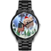 Pomeranian Dog Alabama Christmas Special Wrist Watch-Free Shipping - Deruj.com