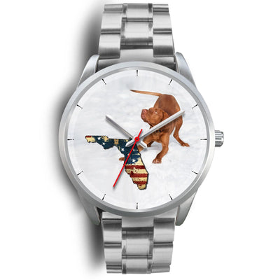 Lovely Vizsla Florida Christmas Special Wrist Watch-Free Shipping