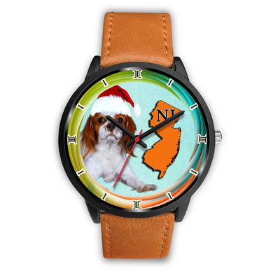 Cavalier King Charles Spaniel Dog New Jersey Christmas Special Wrist Watch-Free Shipping - Deruj.com