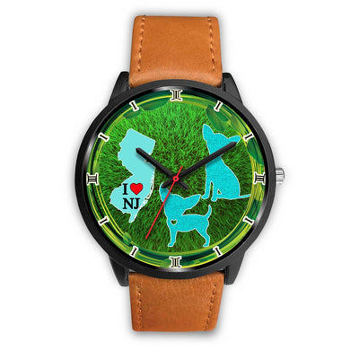 Chihuahua Dog Art New Jersey Christmas Special Wrist Watch-Free Shipping - Deruj.com