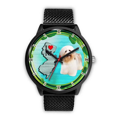 Cheerful Havanese Dog New Jersey Christmas Special Wrist Watch-Free Shipping - Deruj.com