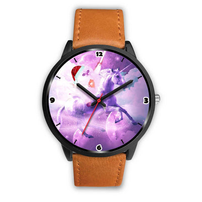 Persian Cat Riding Unicorn Christmas Special Wrist Watch-Free Shipping - Deruj.com