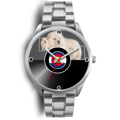 Chow Chow Dog Colorado Christmas Special Wrist Watch-Free Shipping - Deruj.com
